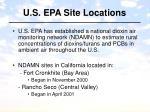 u s epa site locations