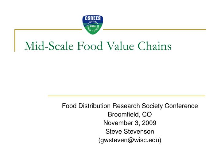 mid scale food value chains n.