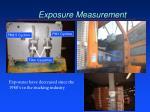 exposure measurement