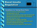 basal insulin regulation1