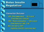 bolus insulin regulation1
