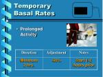 temporary basal rates6