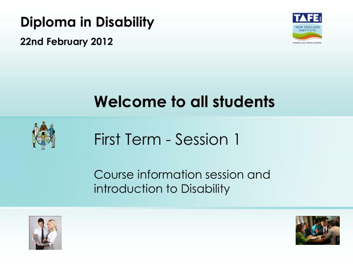 diploma in disability 22nd february 2012 n.