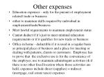other expenses2