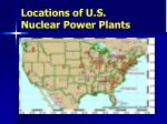 locations of u s nuclear power plants