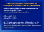 icerd international convention on the elimination of all forms of racial discrimination