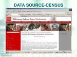 data source census
