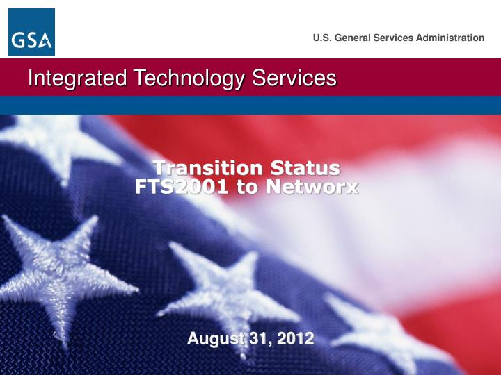 transition status fts2001 to networx n.