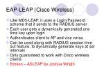 eap leap cisco wireless