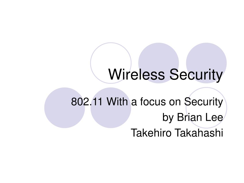 wireless security l.