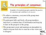 the principles of consensus