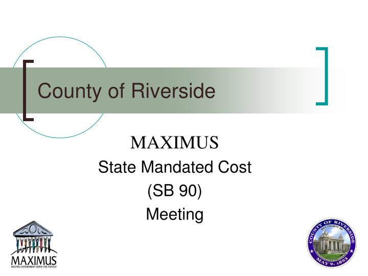 county of riverside n.