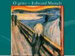 o grito edward munch