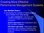 creating more effective performance management systems3