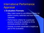 international performance appraisal1