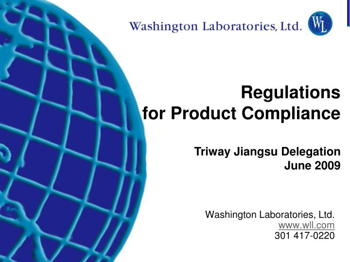 washington laboratories ltd www wll com 301 417 0220 n.
