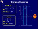 charging capacitor