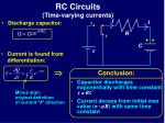 rc circuits time varying currents5