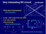 very interesting rc circuit continued2