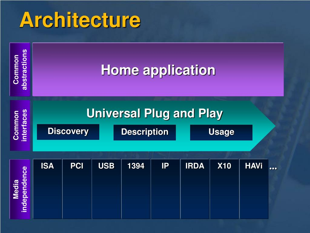 Home application