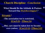 church discipline conclusion1