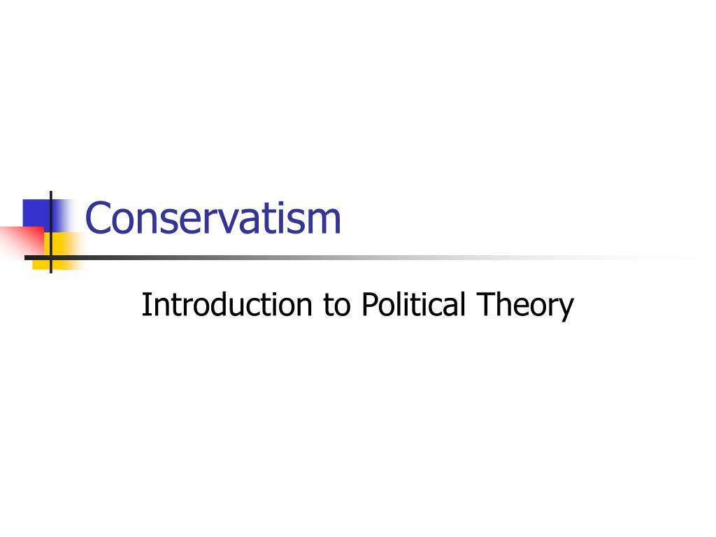 conservatism l.