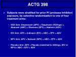 actg 398
