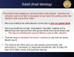 salafi jihad ideology2