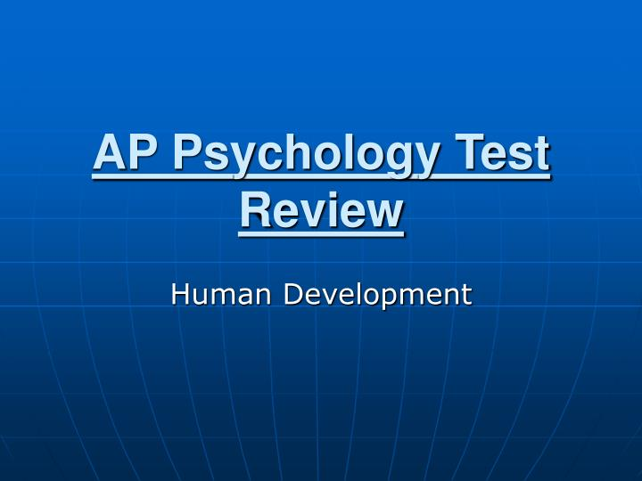 ap psychology test review n.