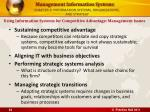 chapter 3 information systems organizations and strategy22