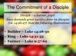 the commitment of a disciple4