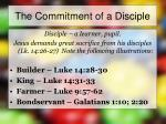 the commitment of a disciple5