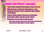 some tom peters concepts