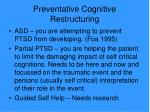 preventative cognitive restructuring