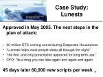 case study lunesta1