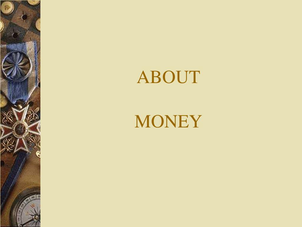 about money l.