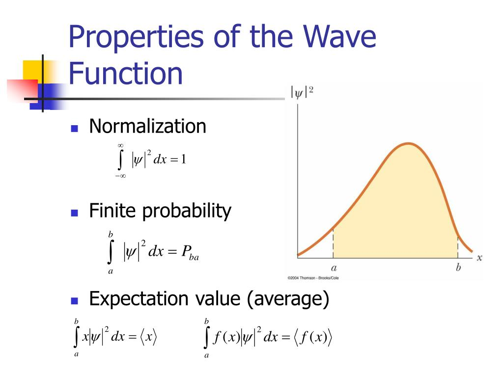 Properties of the Wave Function
