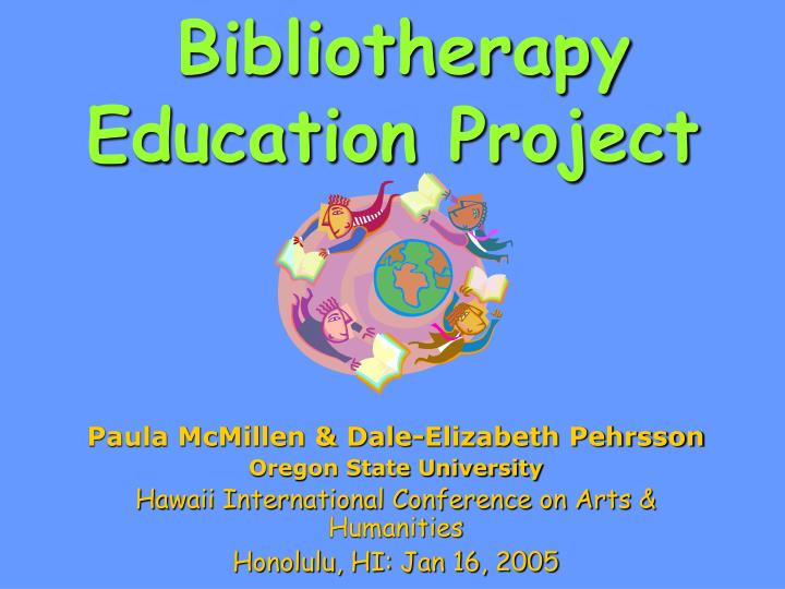 bibliotherapy education project n.