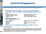 external engagement