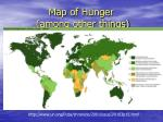 map of hunger among other things