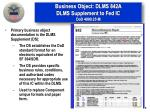 business object dlms 842a dlms supplement to fed ic dod 4000 25 m