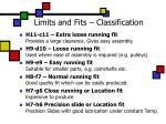 limits and fits classification