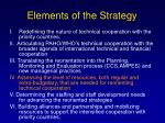 elements of the strategy20