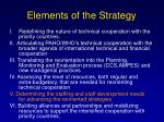 elements of the strategy22