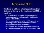 mdgs and nhd12