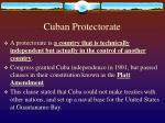 cuban protectorate