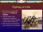 fighting in cuba
