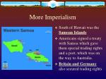 more imperialism