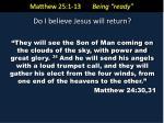 matthew 25 1 13 being ready