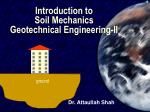 introduction to soil mechanics geotechnical engineering ii